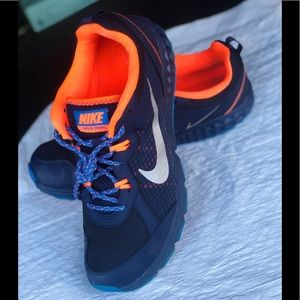 Nike Wild Trail Men's Sz 12 Blue Orange Lace-Up